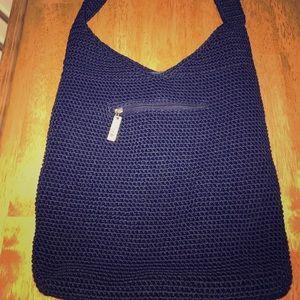 The Sak crochet shoulder bag